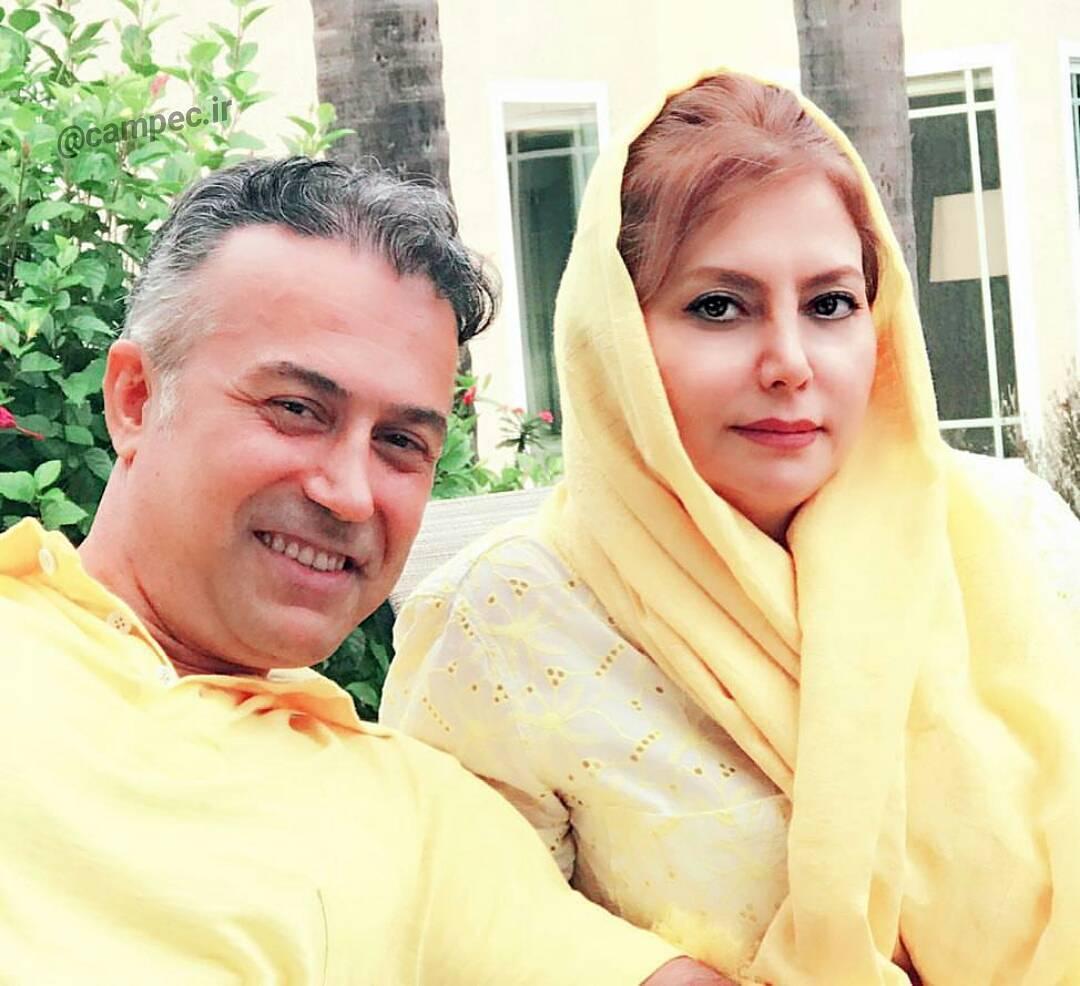 عکس دیدنی دانیال حکیمی با همسرش