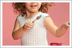 پیراهن دخترانه قلاب بافی برای دخترکوچولوهای ناز