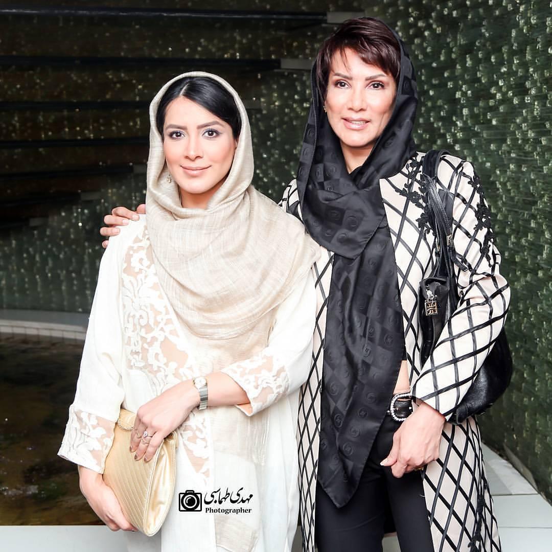 عکس جدید مهشید افشارزاده با دخترش