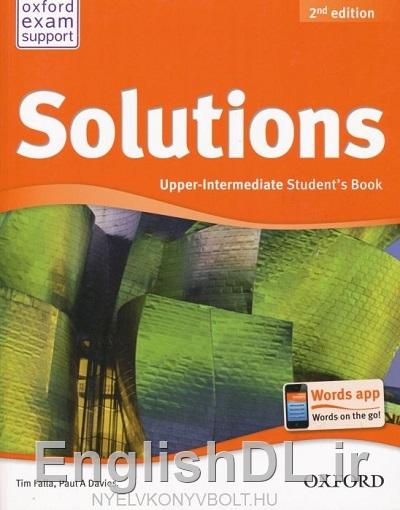 کتاب Solutions Upper-Intermediate ویرایش دوم