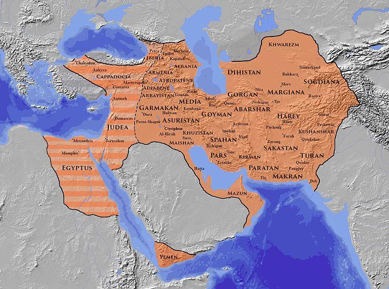 خراسان غربی یا ایالت نیشابور در دوره ساسانیان