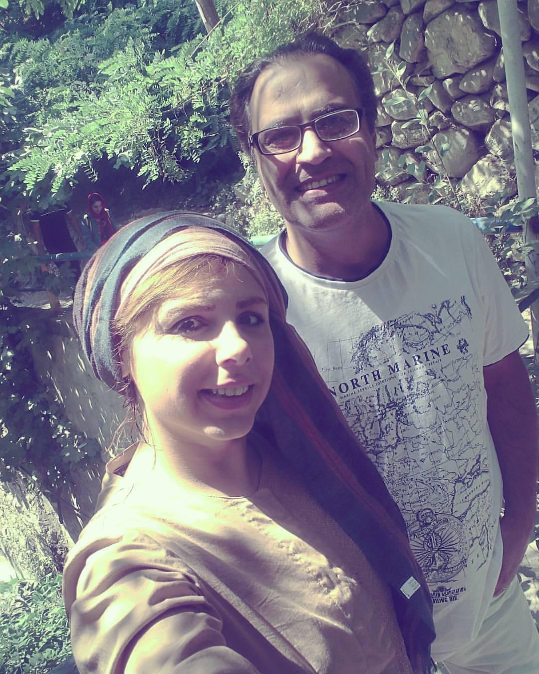 عکس جدید بهزاد خداویسی و همسرش