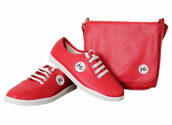 ست کیف و کفش Hi RED