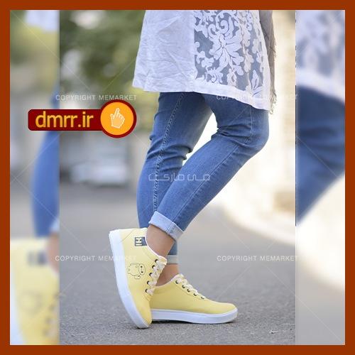 خرید كفش دخترانه رنگ زرد HI مدل رانا چرم مصنوعی