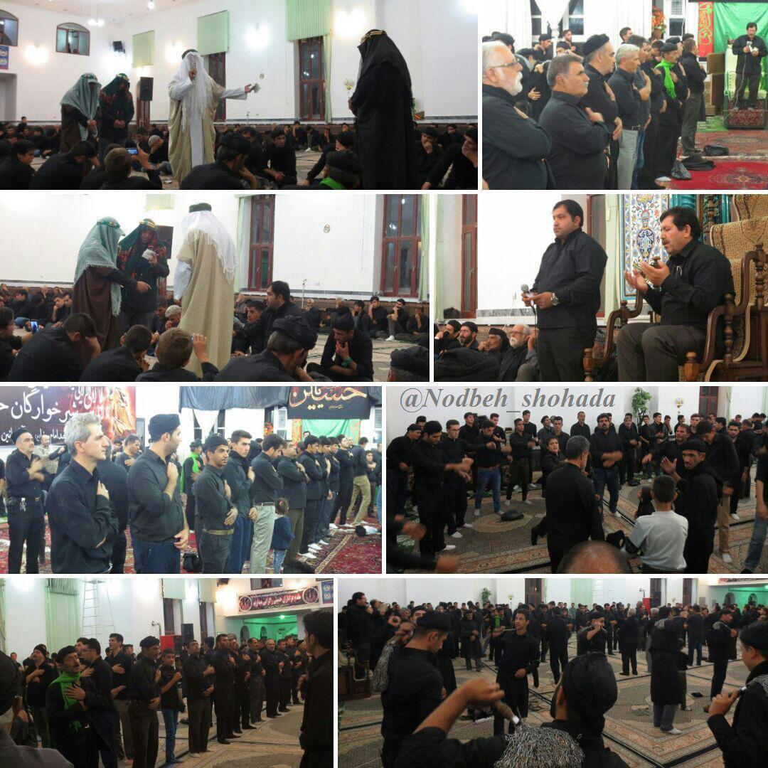 گزارش تصویری عزاداری هیئت مرحوم درویش تیموری