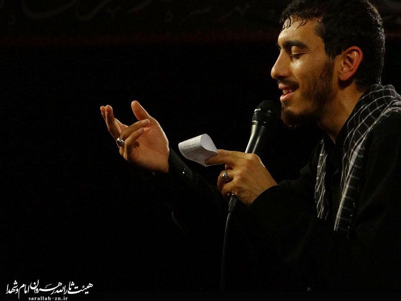 نوحه و مداحی حاج مهدی رسولی - تصویری