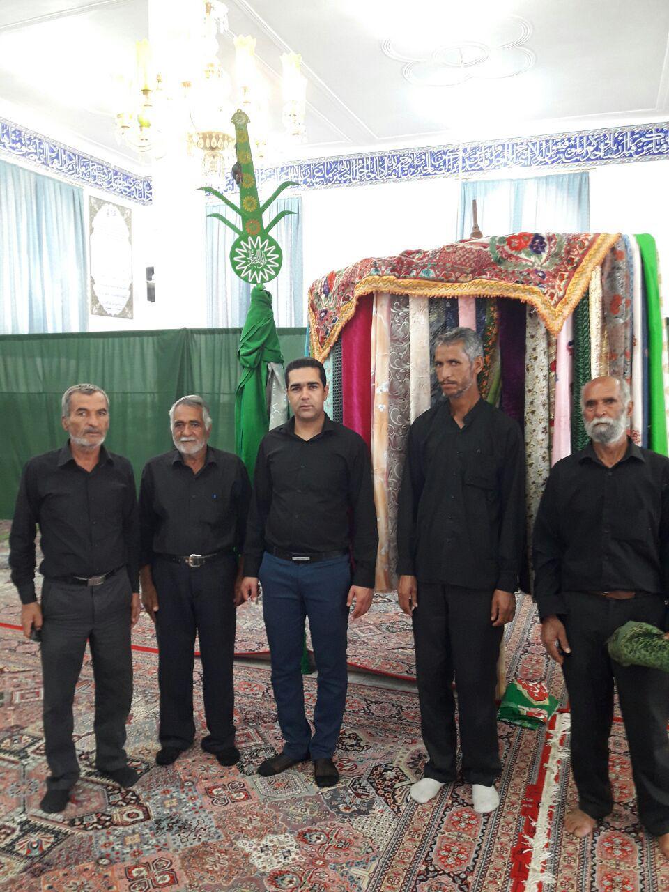 سنت دیرینه  شهده بندان  و علم گردانی در محله صادقیون رفسنجان