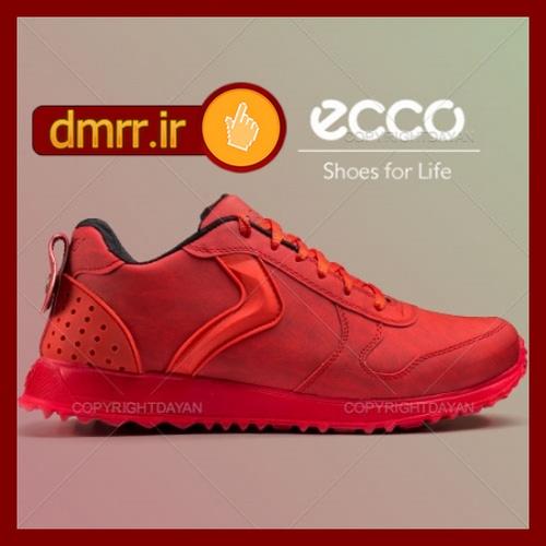 کفش مردانه Ecco رنگ قرمز ارزان قیمت 2017