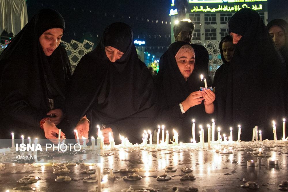 مراسم شم غریبان تهران