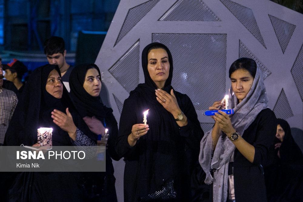 مراسم شام غریبان تهران