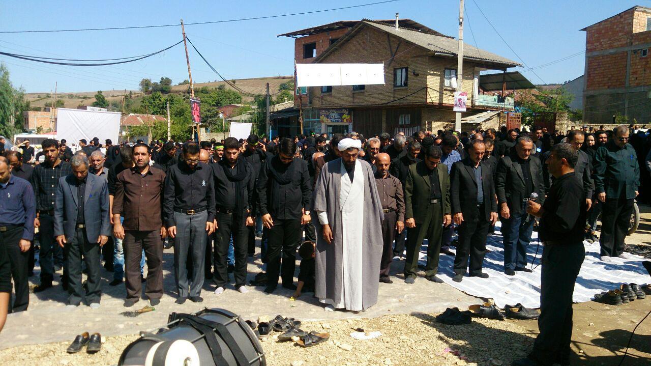 نمازظهر تاسوعا به امامت حجة الاسلام والمسلمین شیخ محمد گلچین