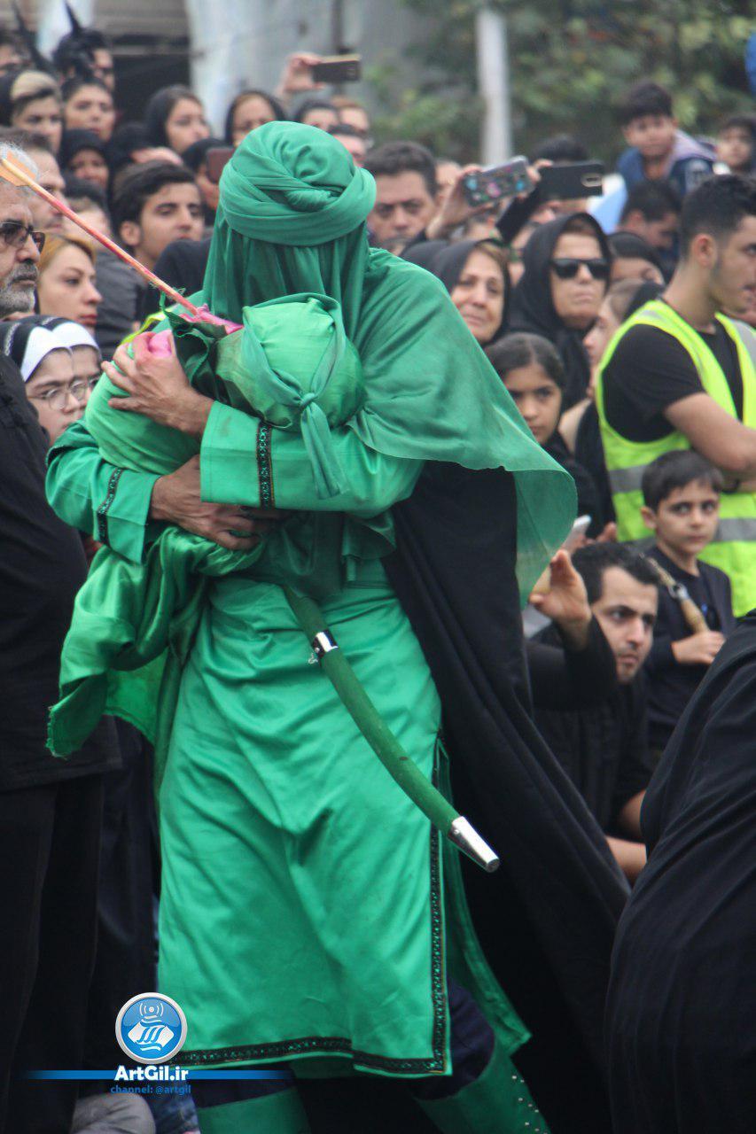 """گزارش تصویری اجرای نمایش """"مولای عشق """" در تاسوعا و عاشورای حسینی"""