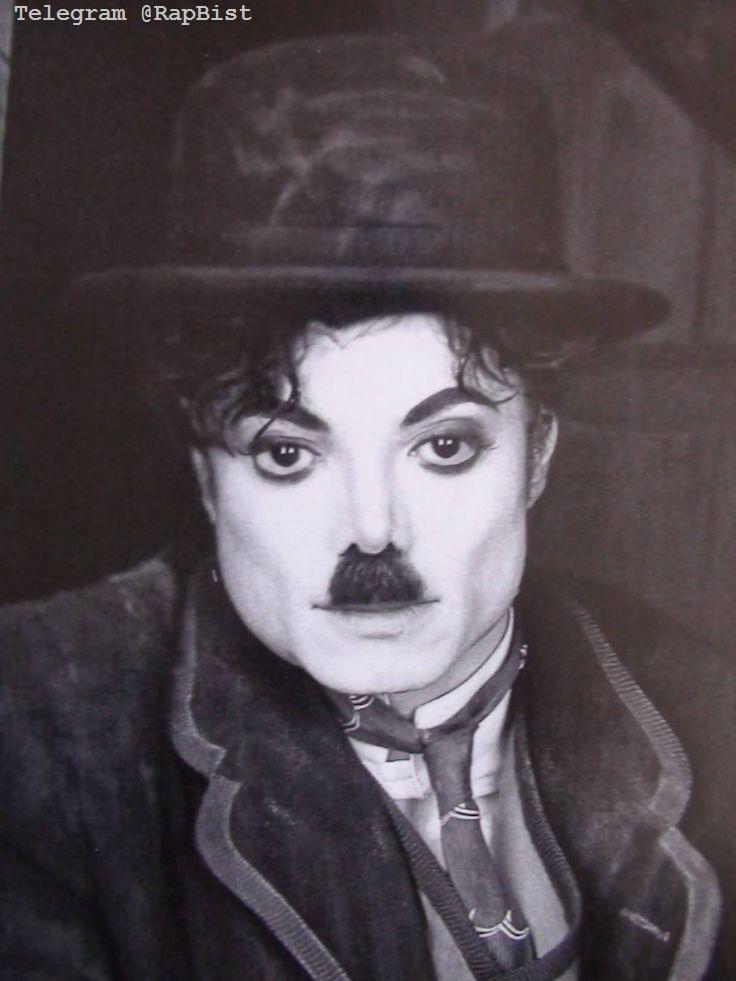 مایکل جکسون با لباس های چارلی چاپلین