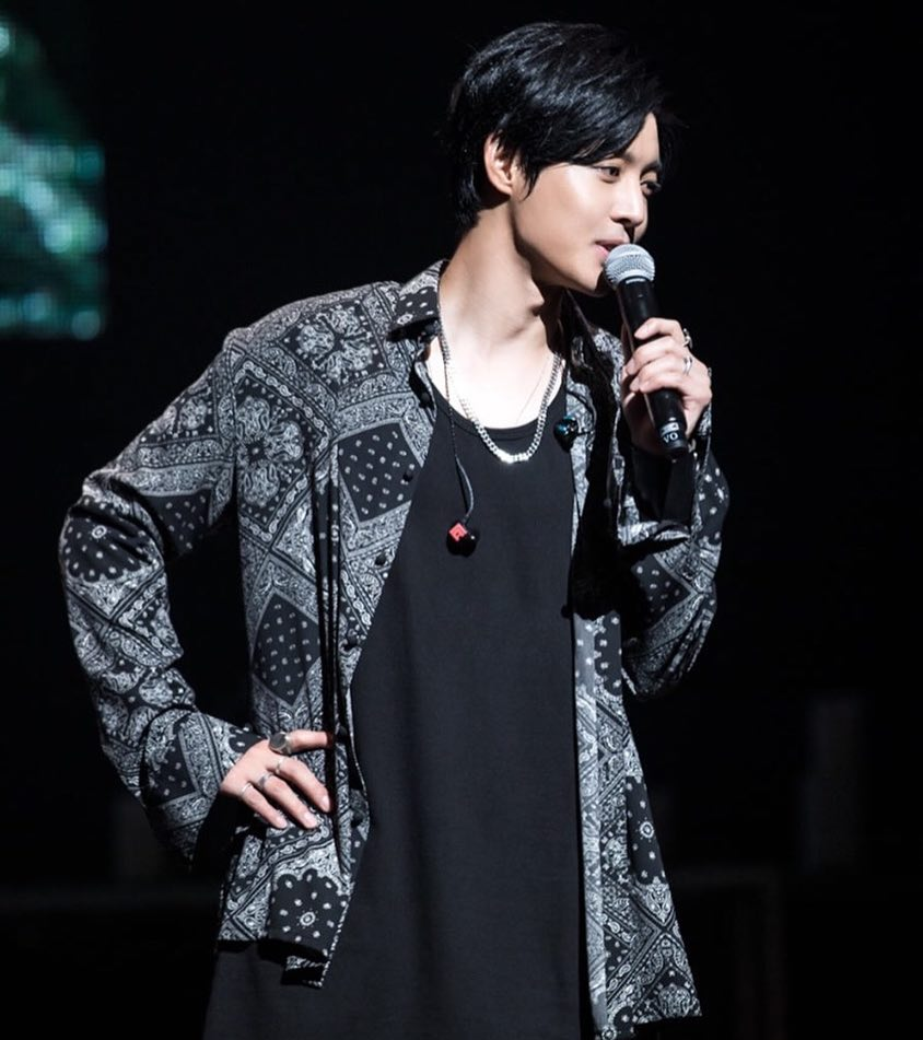 [Photo] Kim Hyun Joong Japan Mobile Site Update [2017.10.02]