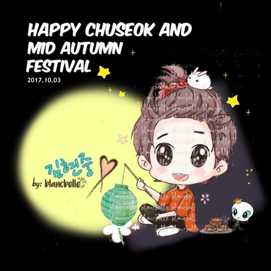 [blancbelle Fanart] Happy Chuseok and Mid Autumn Festival [2017.10.03]