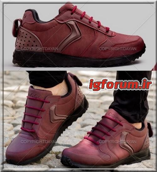 کفش کتانی ورزشی مردانه Ecco اکو