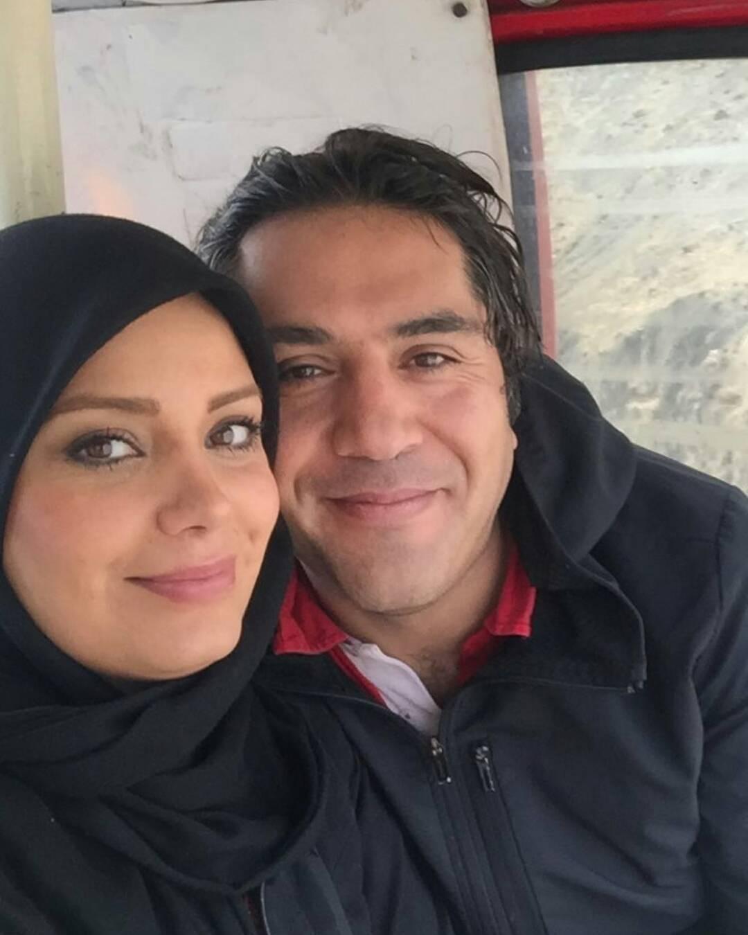 صبا راد و همسرش مانی رهنما