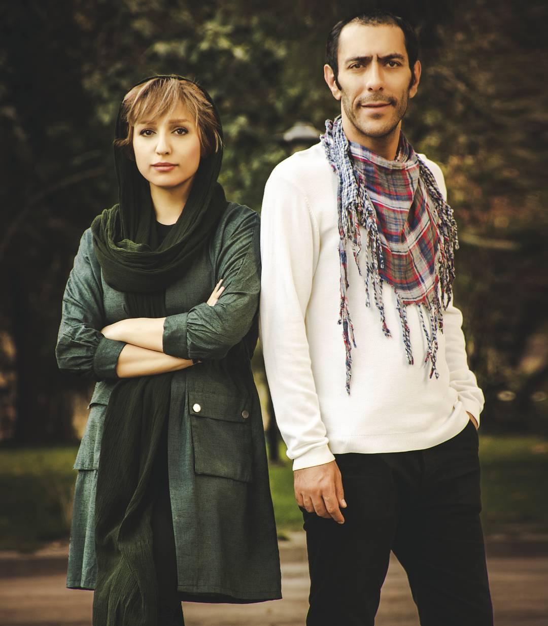 علیرضا مهران و همسرش شهره مکری