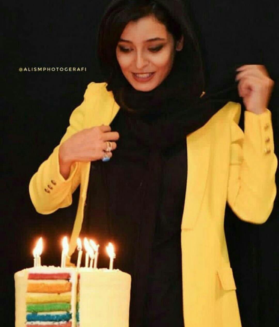 عکس جشن تولد ساره بیات