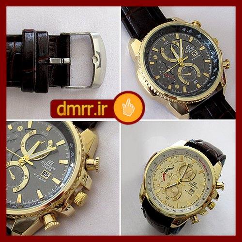 فروش ساعت مچی ارزان کاسیو بند چرمی با کیفیت