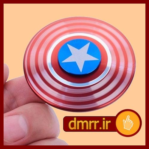 خرید اینترنتی اسپینر فلزی دایره ای شکل مدل ستاره