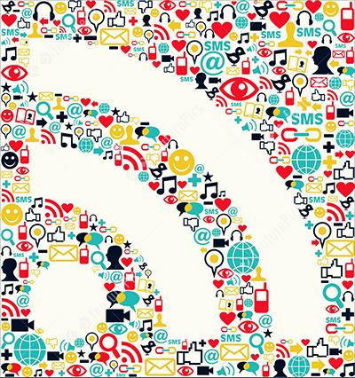 خبرخوان RSS شبکه های اجتماعی