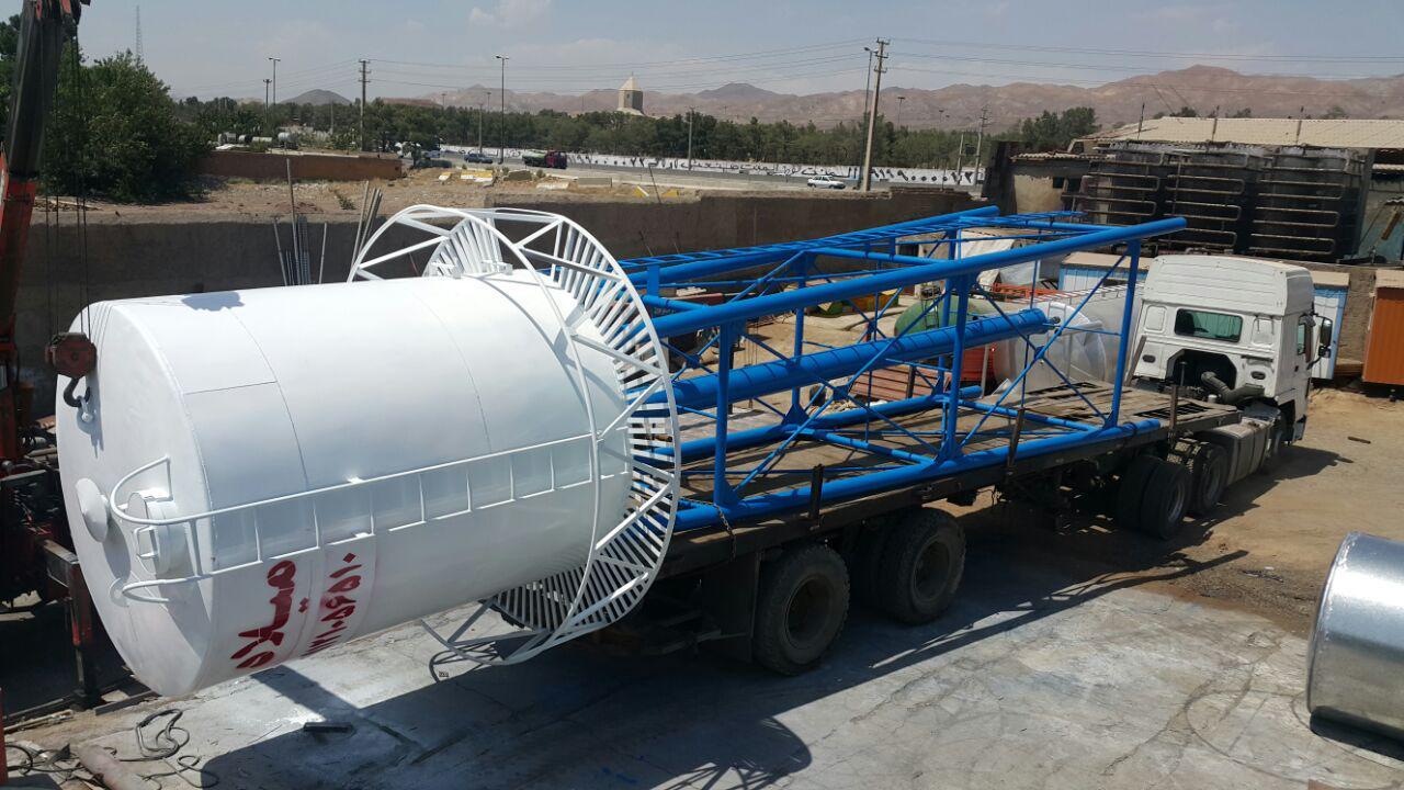تانکر سازی میلاد - تانکر آب هوایی
