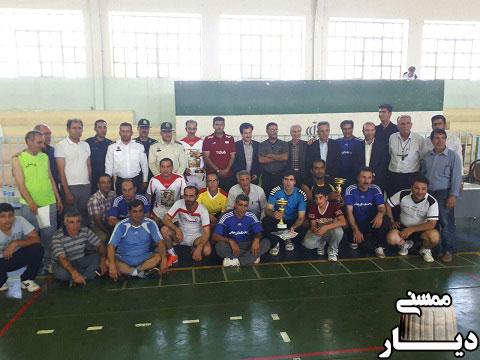 ابفا شهری ممسنی قهرمان والیبال چهار جانبه هفته نیروی انتظامی