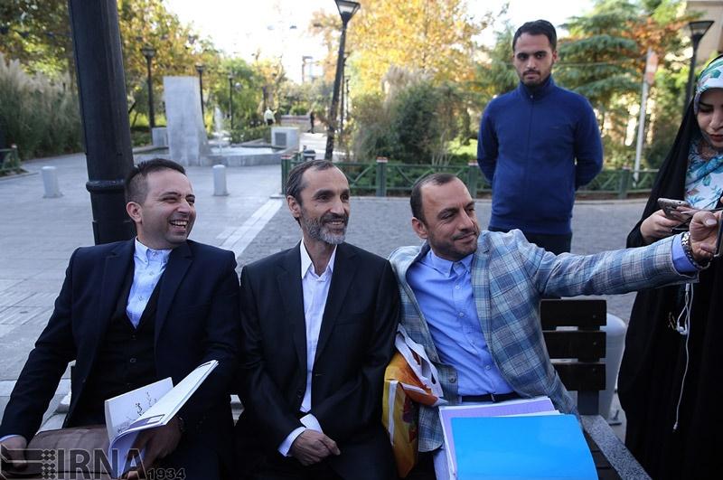 حواشی دادگاه حمید بقایی