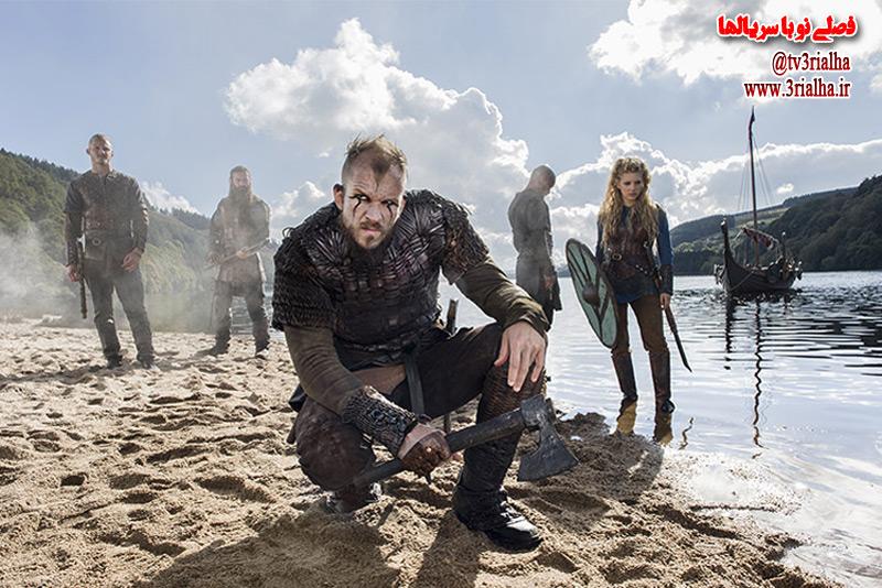 پوستر جدید فصل پنجم سریال وایکینگ ها منتشر شد