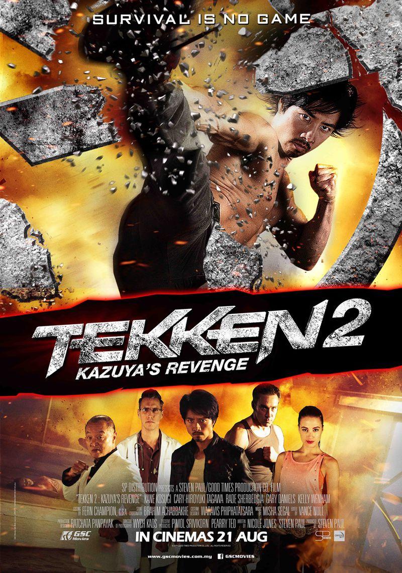 پوستر فیلم تکن 2 : انتقام کازویا