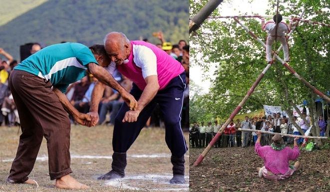 بازیهای بومی محلی گیلان؛گنجینه ای از نشاط و امید