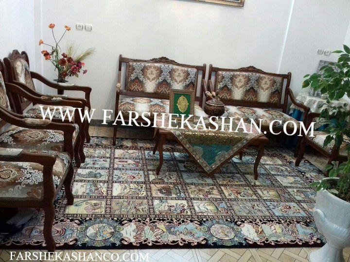 قیمت فرش 1200 شانه كاشان