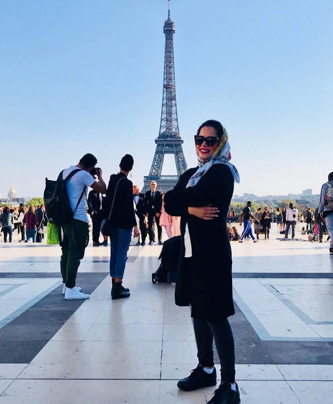ملیکا شریفی نیا در پاریس