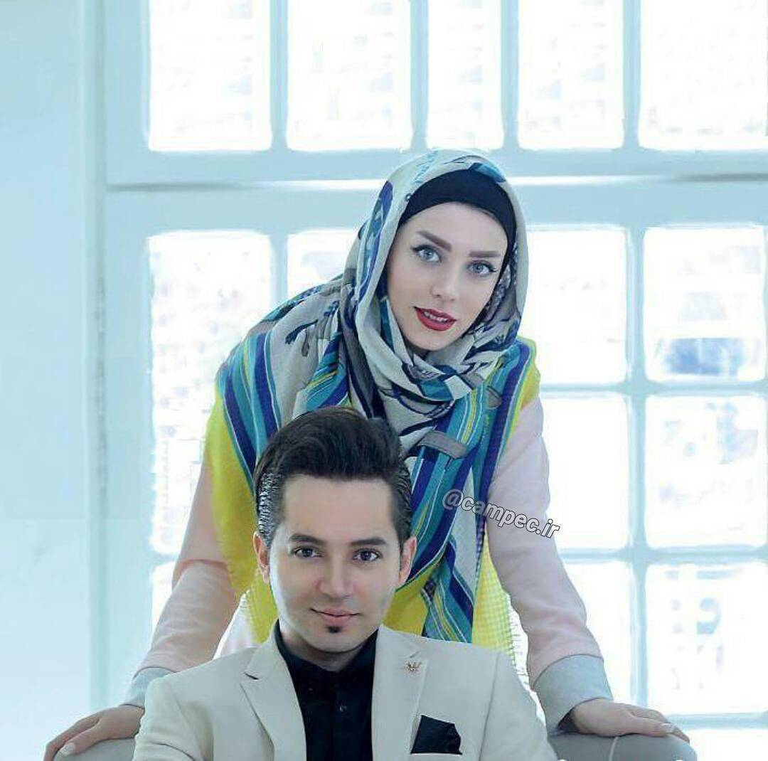 عکس کمیاب شهنام شهابی با همسرش