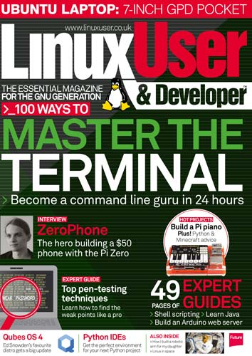 Linux User Developer Issue 184 2017