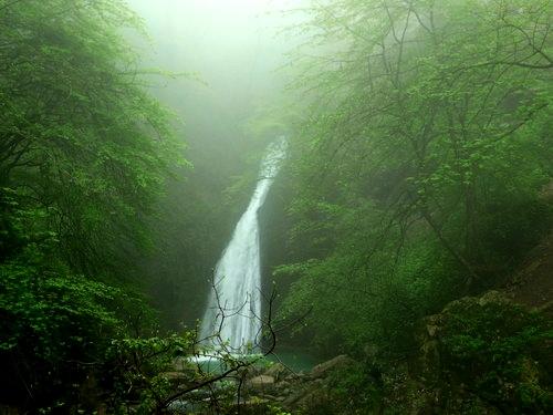 دیدنی های ایران + آبشار زیبای شیرآباد