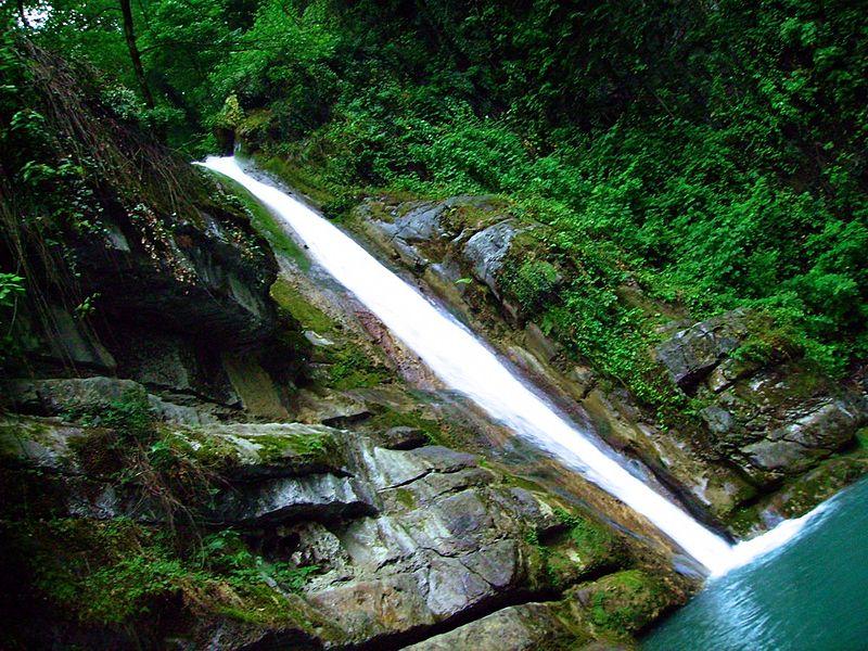 دیدنی های زیبای ایران + آبشار زیبای شیرآباد