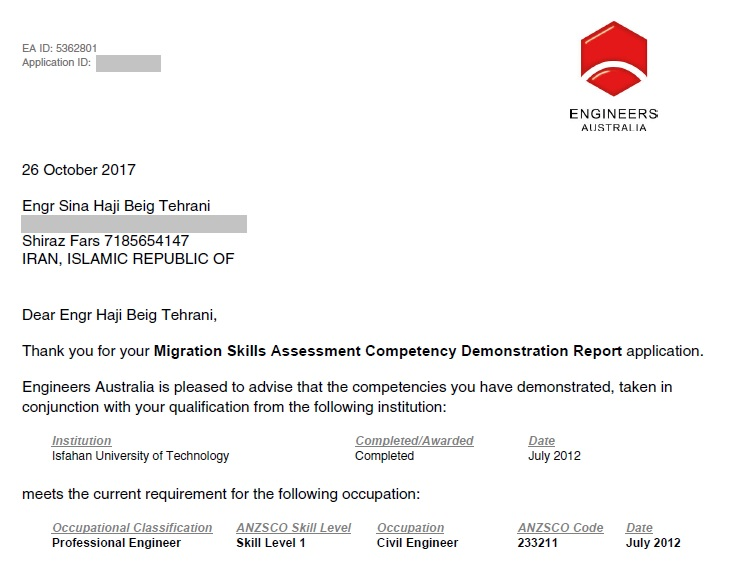competency demonstration reports for civil engineer Get competency demonstration report for engineers from professional cdr report writers 500+ cdr australia requests serviced so far with 100% approval ratehire us to prepare your own competency demonstration report (cdr) for australia immigration.