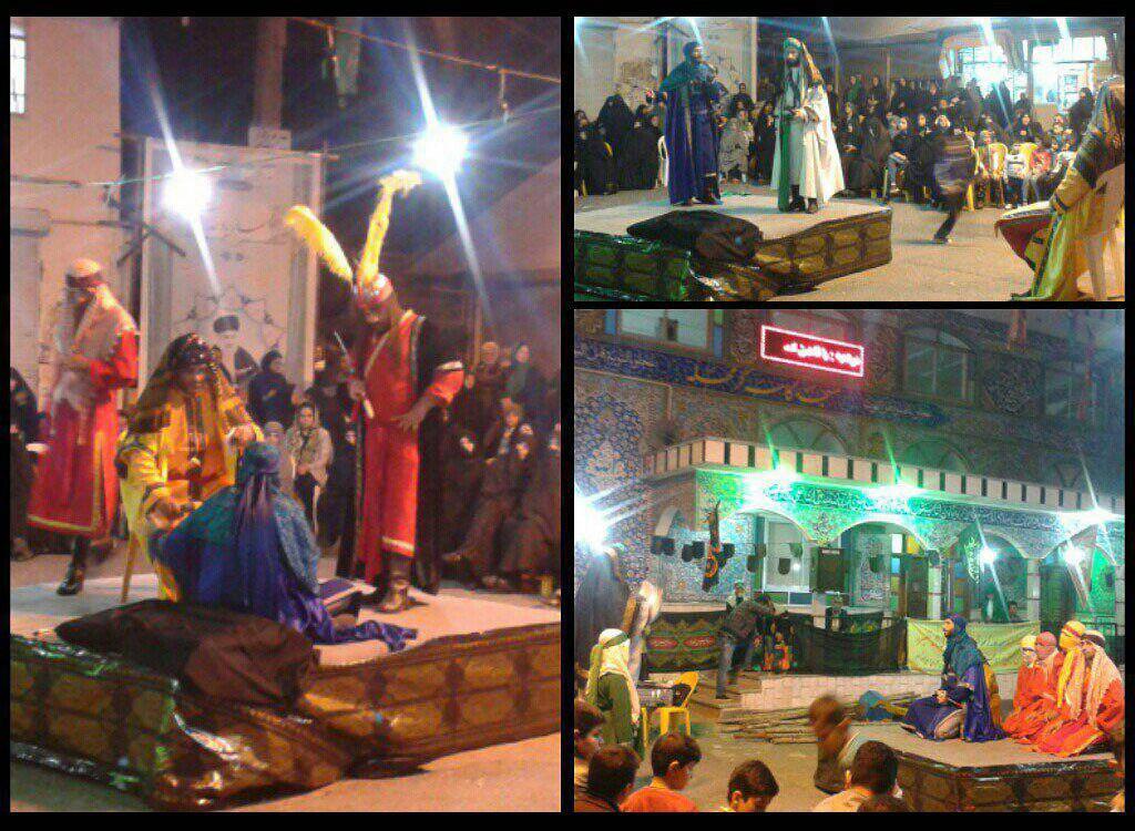 آغاز مراسم تعزیه خوانی ماه صفر در لنگرود