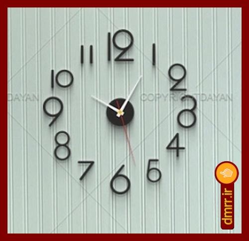 فروش ساعت دیواری جنس پلکسی گلاس و فوم طرح دایره