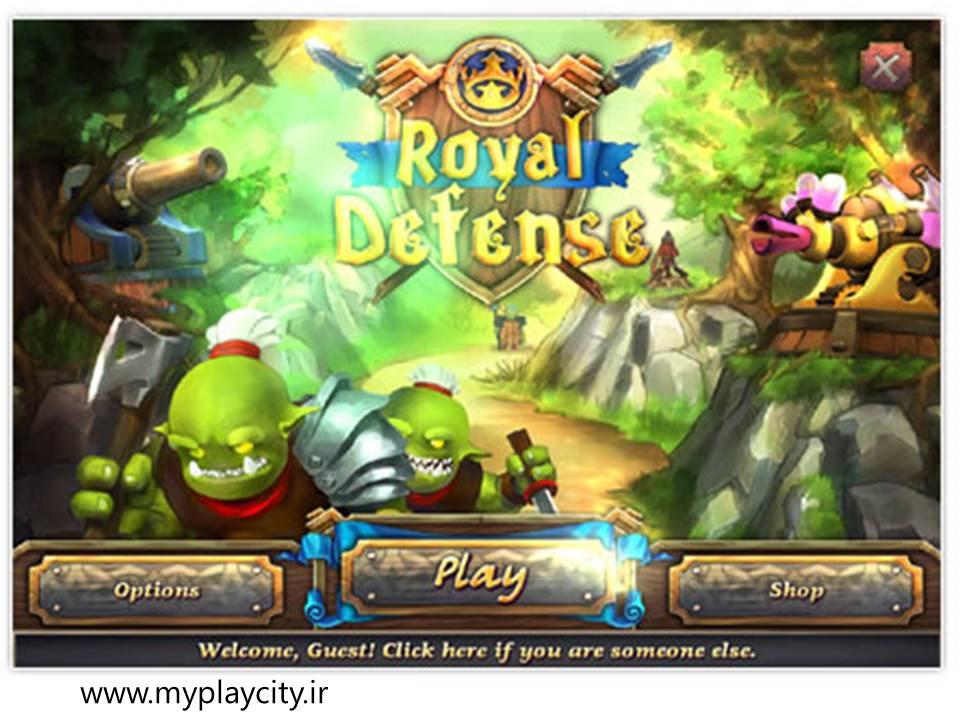 دانلود بازی مدیریتی و کم حجم Royal Defense