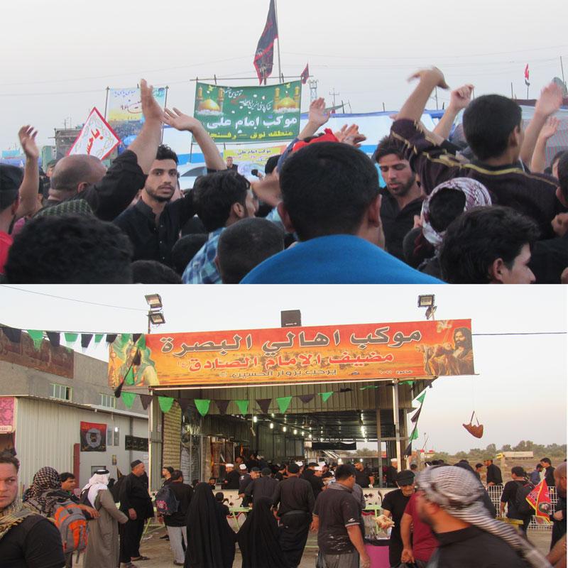 پذیرایی و مهمان نوازی موکب های ایرانی و عراقی از زائران اربعین حسینی