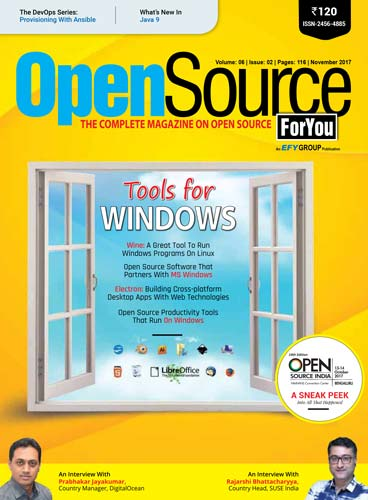 Open Source For You November 2017