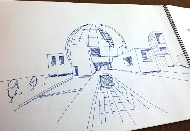 دفتر اسکیس معماری آماده برای تحویل-4