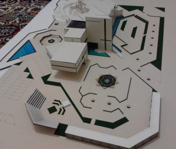 ماکت معماری موزه-زیبا و خلاقانه