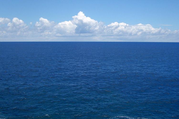 چرا نام اقیانوس ارام دوبار روی نقشه نوشته شده است
