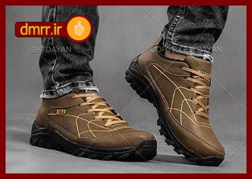 خرید کفش اسپرت مردانه پسرانه مارک CAT کت رنگ قهوه ای