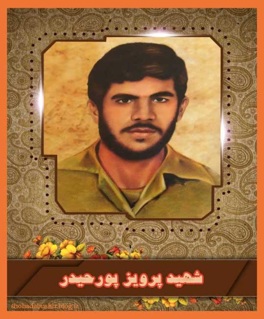 شهید پرویز پورحیدر