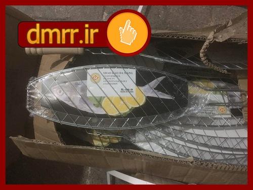 خرید اینترنتی توری استیل مخصوص کباب ماهی